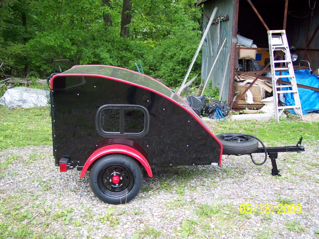 For Sale Small Vehicle Teardrop Trailer